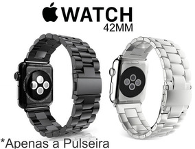Pulseira Aço Inox Para Relógio Apple Watch 42mm 38mm