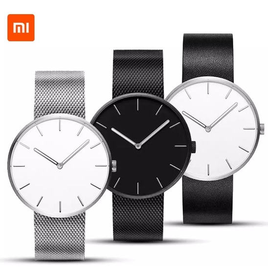 Xiaomi Twentyseventeen Reloj Analogo Quartz Wrist 39mm Gris