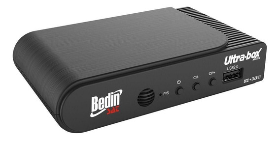Receptor E Conversor Digital Ultra Box Bedin Sat Entrada Usb