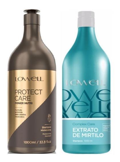 Lowell Shampoo Protect Care Power Nutri + Shampoo Mirtilo 1l