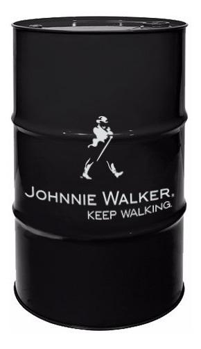 Adesivo Decorativo Barril Tonel Tambor Johnnie Walker