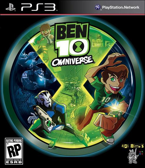 Ben 10 Omniverse Jogos Ps3 Psn Original Receba Hoje