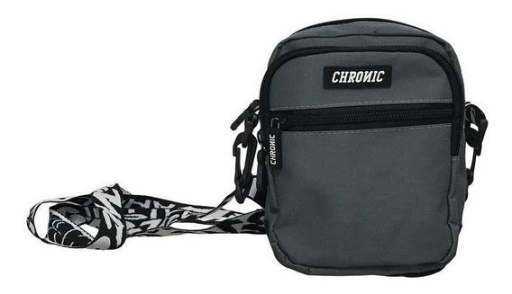 Shoulder Bag Mini Bolsa Chronic Cinza Original Lançamento
