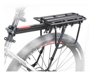 Portaequipaje Flotante Bicicleta Aluminio Wkns 50 Kilos