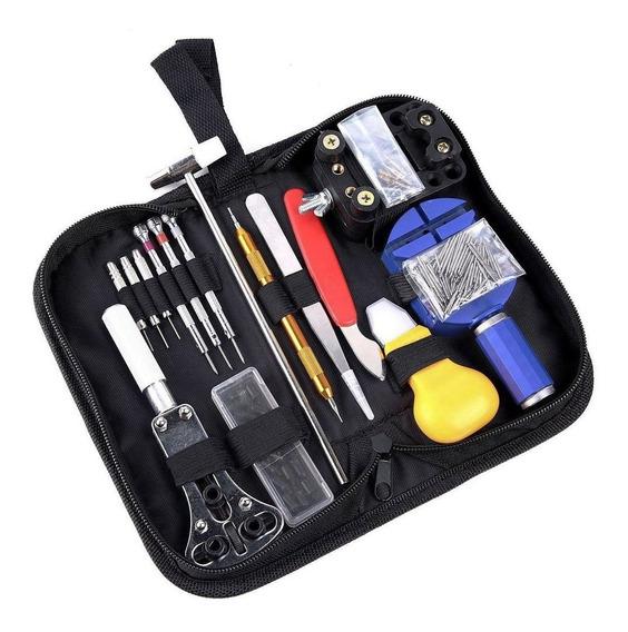 Portátil 147pcs Relógio Reparo Tools Kit Com Estojo De Trans