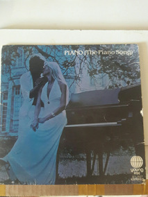 Disco Vinil Piano (the Piano Song) Bruno Carezza - Carta Reg
