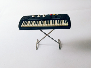 Teclado Piano Miniatura Vintage Retro
