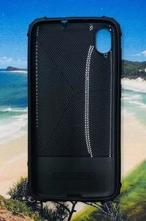 Capa Emborrachada Zenfone Live L1 Za550kl + Pelicula De Vidr