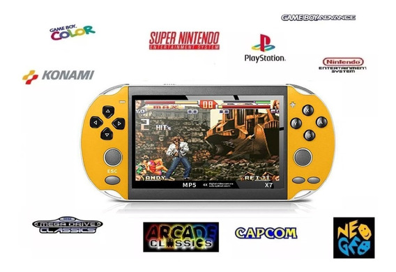 Vídeo Game Portátil 12.000 Mil Jogos Ps1 Snes Mega Neo Geo