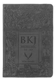 Bíblia King James Fiel 1611 - Ultra Gigante - Capa Luxo Pre
