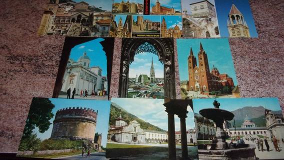 9 Postales Catedrales, Santuarios, Monasterios De Europa