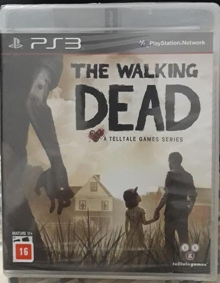 Jogo Ps3 The Walking Dead (novo - Lacrado) Original