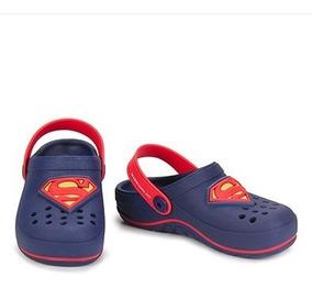 Sandália Babuche Grendene Liga Da Justiça Superman