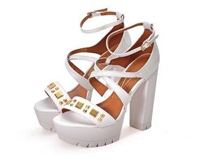 Zapato Y Mujer Vizzano Blanco De En Sandalias Ojotas FJcTlK1