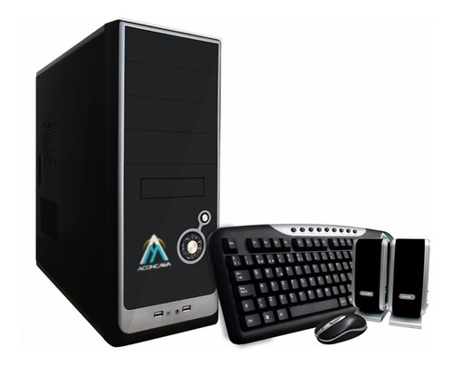 Pc Computadora Oficina Intel I3 8gb Ssd 120gb - Cuotas