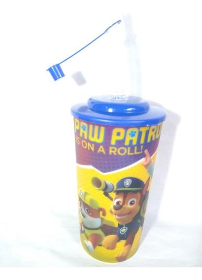 Dulcero Paw Patrol 15 Recuerdos Con Tapa Y Popote