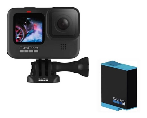 Gopro Hero 9 Black 5 K 20 Mp+bateria Extra Original+nfe