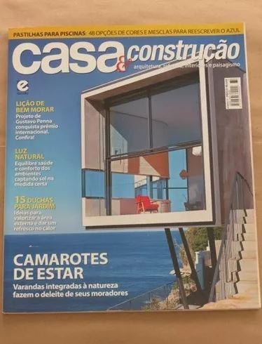 Revista Casa E Construção - Arquitetura Paisagismo Varandas