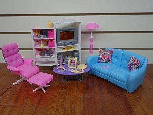 Gloria Barbie Size Doll House Furniture, Habitación Familiar