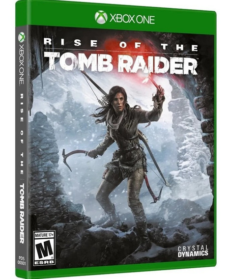 Jogo Rise Of The Tomb Raider Xbox One Midia Fisica Original