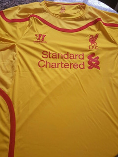 Camisa Liverpool Warrior Temporada 2014