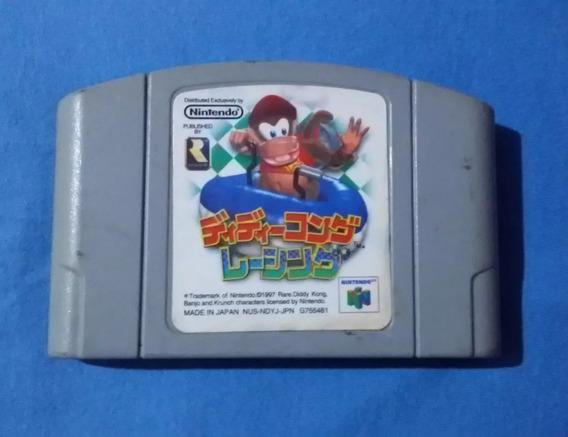 Diddy Kong Racing Original Nintendo 64 Funcionando 100%