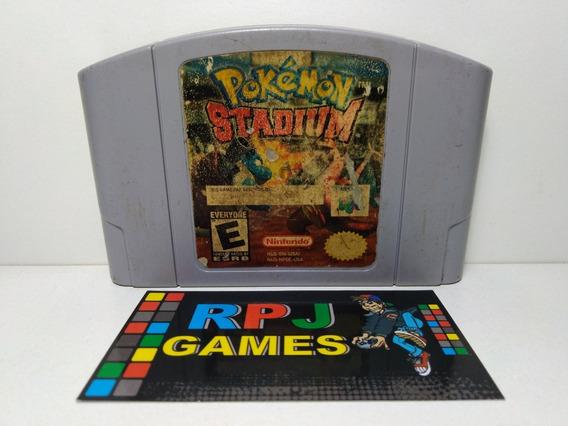 Pokemon Stadium 1 Original Salvando P/ Nintendo 64 N64 - &&