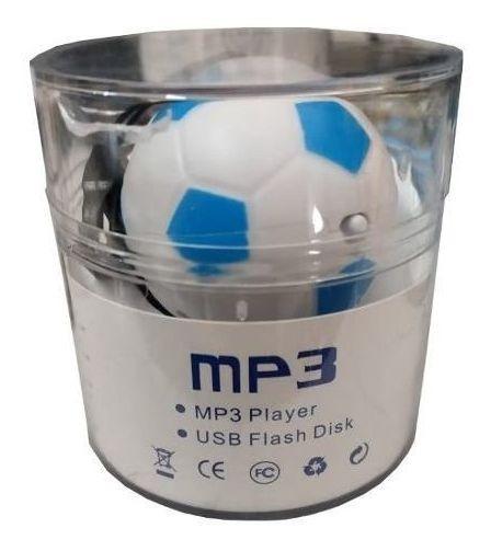 Kit 20 Mini Mp3 Player Bola Fm Radio Estudo Corrida Fitness