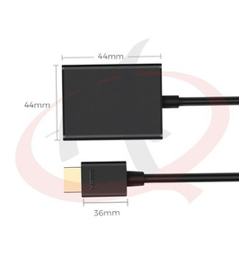 Cabo Conversor Hdmi Para Vga Pc Xbox Ps3 Tv Computador