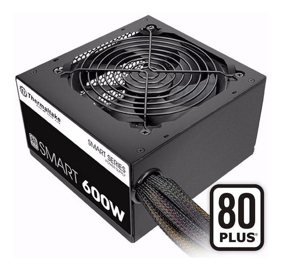 Fuente Pc Thermaltake 600w White 80 Plus Gamer Atx