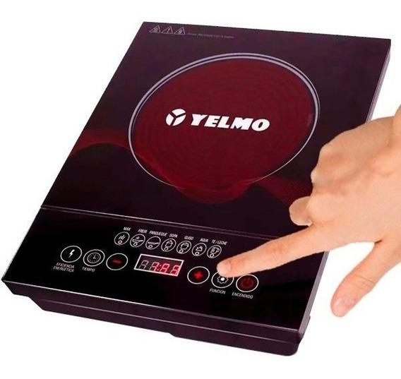 Anafe Electrico Vitroceramico Yelmo An9901 Infrarojo Una Hornalla
