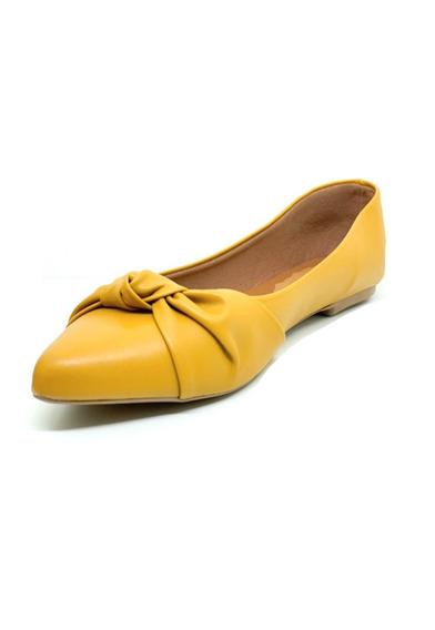 Sapatos Femininos Sapatilha Bico Fino Nó Dani K