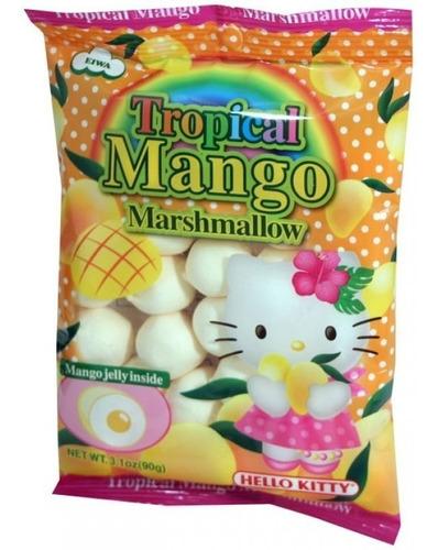 Imagen 1 de 1 de  Bombon Relleno Hello Kitty Mango Marshmallow