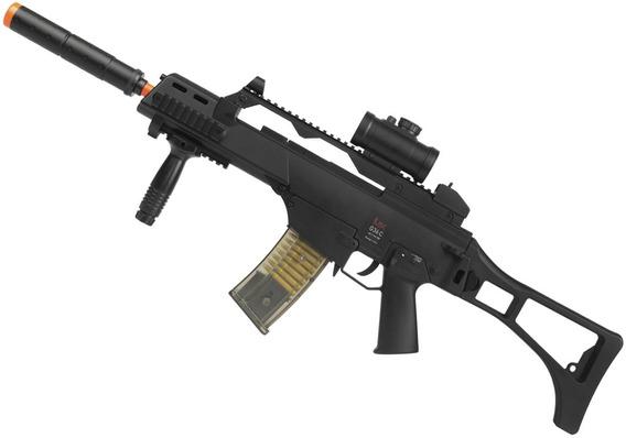 Rifle Airsoft Elétrico Umarex G36 H&k Bivolt 6 Mm 200 Fps