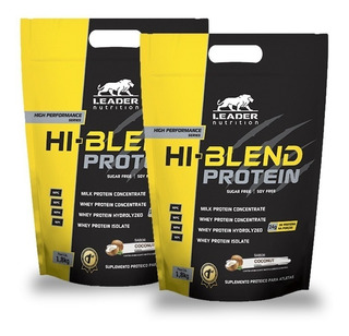 Combo 2x Hi-blend Protein Whey Protein Proteína 1,8kg