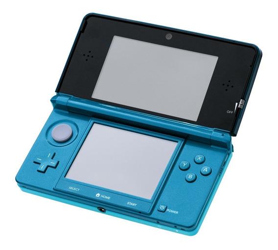 3ds Original Nintendo Semi Nv + 64 Gigas De Jogos +barato!