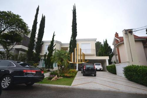 Casa Com 4 Suítes À Venda, 500m² Por R$ 4.500.000 - Alphaville 0 - Santana De Parnaíba/sp - Ca2301