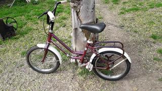 Bicicleta Niña Rodado 14 Usada. Impecale Estado