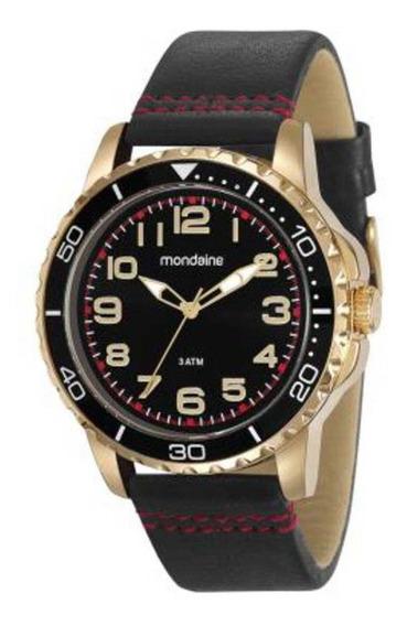 Relógio Mondaine Masculino 76710gpmvdh2 Dourado Com Nf