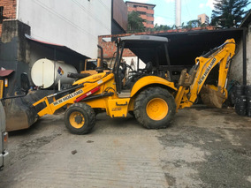 Mhs - Retro Excavadora New Holland B95b Año 2010 Y 2012 4x4