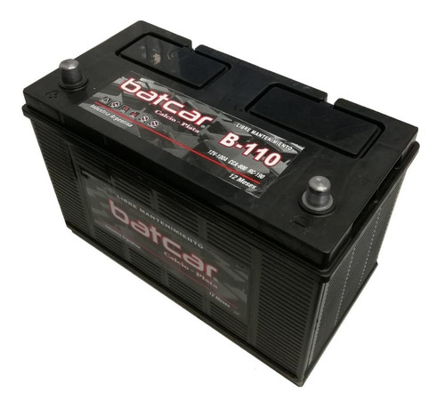 Imagen 1 de 9 de Bateria Batcar 12x110 B110c Caterpiller Libre Mantenimiento
