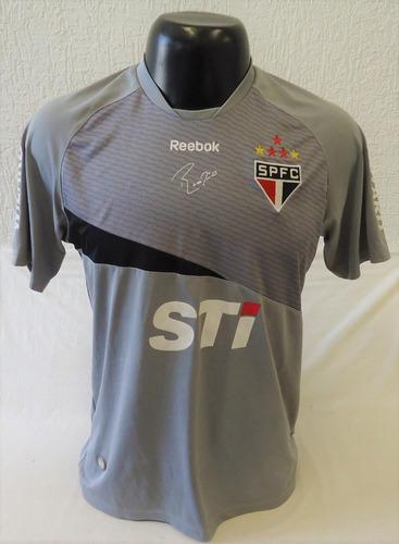 Camisa São Paulo 2012 Rogério Ceni Cinza Reebok Sti Wizard