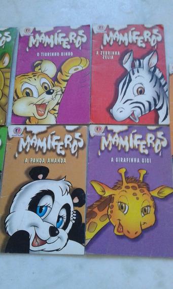 Lote Com 9 Livros Infantis Mamíferos