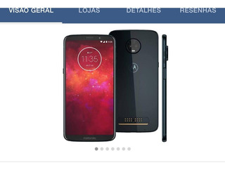 Smartphone Motorola Z3 Play Novo 64gb