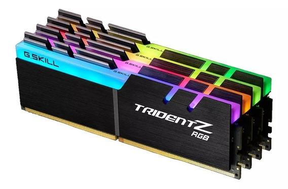 Memoria Ram Gskill Trident Z Led Rgb 16gb (2x8) Ddr4 3000/3200mhz