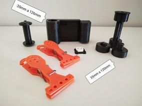 Kit Adaptadores X2 + Prendedor De Secagem + Hotshoe Cover