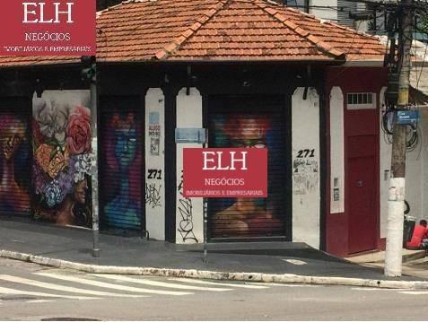 Loja Para Alugar, 70 M² Por R$ 7.000,00/mês - Vila Madalena - São Paulo/sp - Lo0072