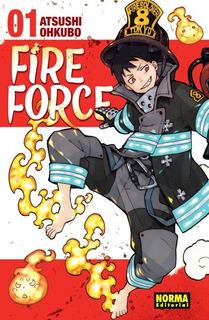 Fire Force - Tomos Varios - Atsushi Ohkubo - Norma Ed C/u