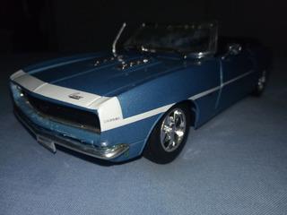 Camaro Ss396 1968 1:24