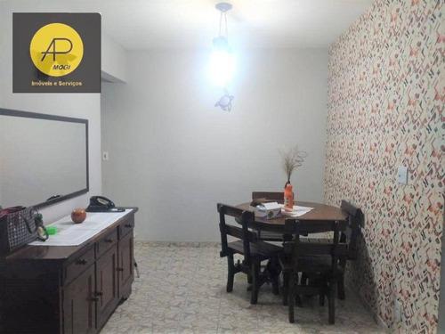 Imagem 1 de 16 de Apartamento Com 2 Dormitórios À Venda, 57 M² - Cézar De Souza - Mogi Das Cruzes/sp - Ap0342